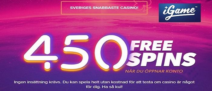 Free spins som no-deposit bonus hos casinon