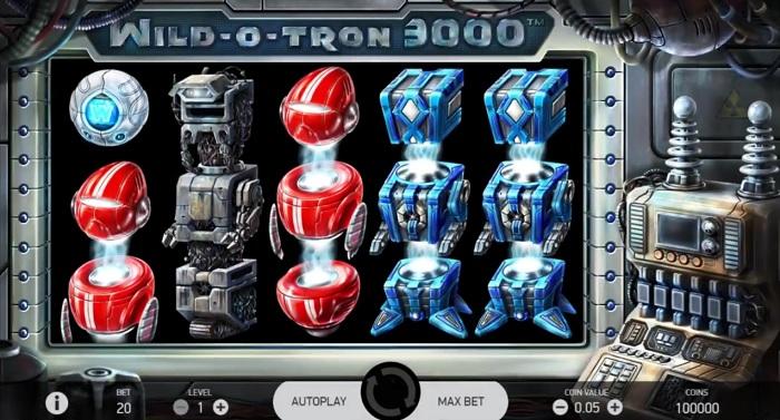 Wild-O-Tron 3000 från NetEnt